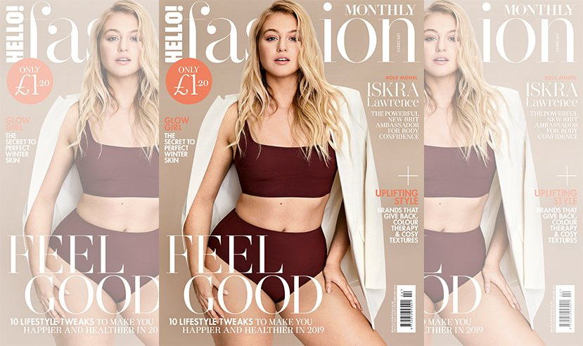 Have you picked up a copy of our February feel good issue yet? Featuring the stunning @Iskra. On sale now! 💥