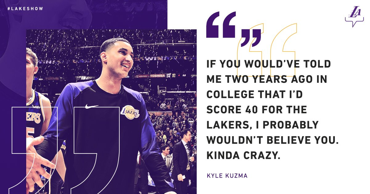 Put in the work and the possibilities are endless. #KuzControl   Vote for Kuz: https://t.co/bVCvGErB7h https://t.co/lbRZUSvXWw