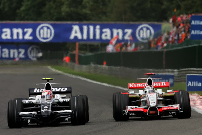 Happy Birthday to former racers Kazuki Nakajima and Adrian Sutil!  Hope you\re keeping it flat out