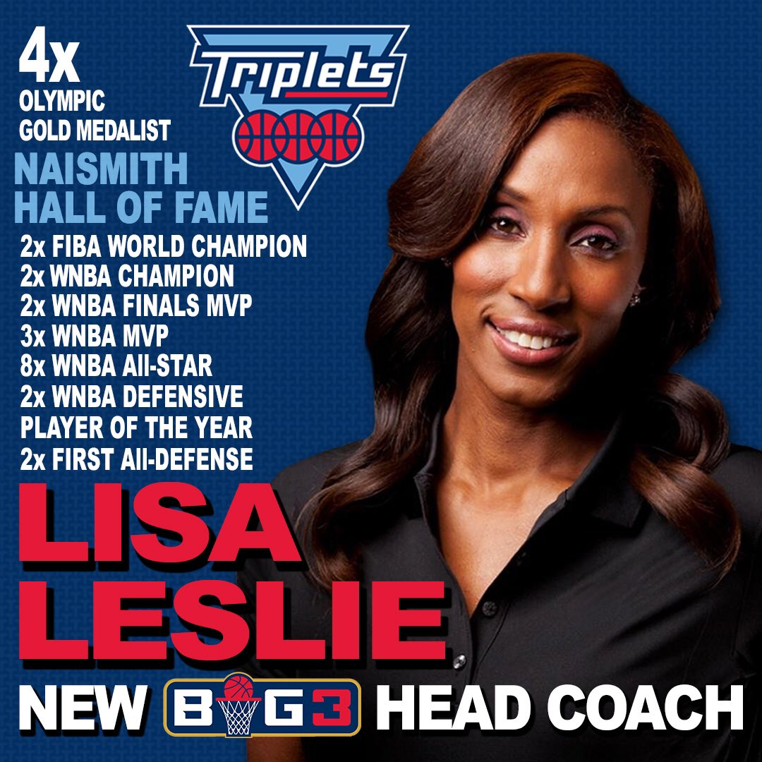 Image result for lisa leslie big 3