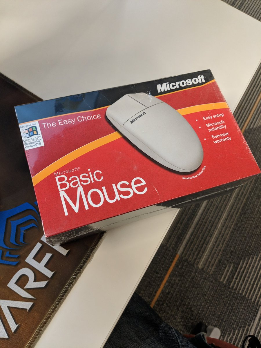 Adam Zwakenberg On Twitter So I Got This Microsoft Serial Ps2 Mouse From Ebay Today Didn T Know It Was Going To Be Sealed Still But I Need A Good Mouse Do I Break
