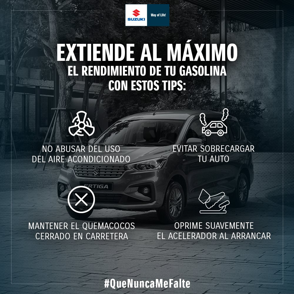 Suzuki Autos México's photo on #QueNuncaMeFalte