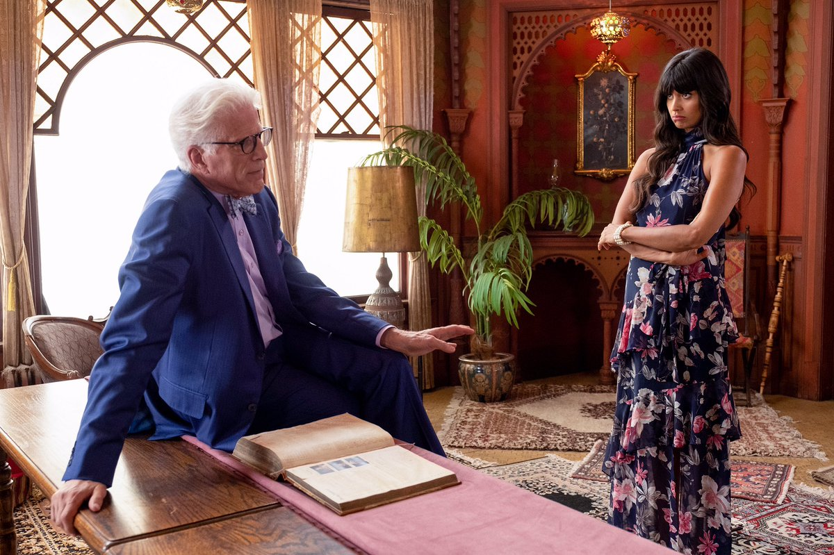 Ted Danson's photo on #TheGoodPlace