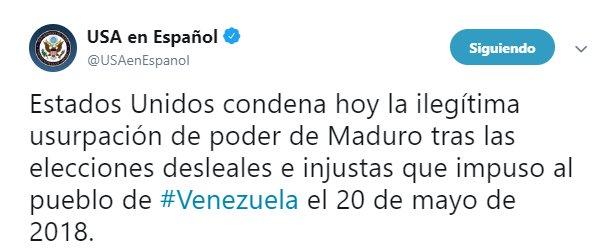 Maduro: Si algo me pasa, ¡retomen el poder y hagan una revolución más radical! DwklODWU0AAHOK3