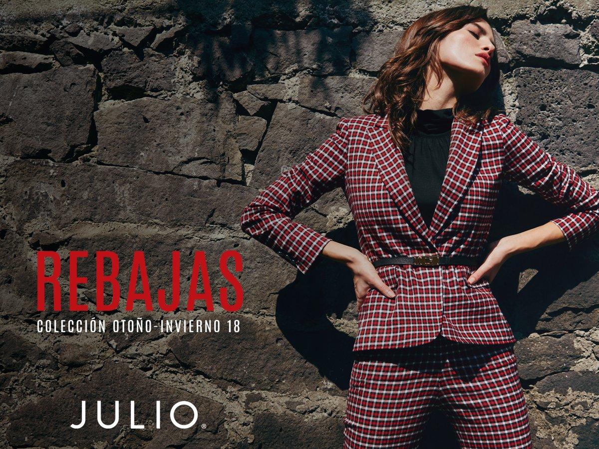 Temporada de rebajas en #JULIO hasta el 3 de febrero del 2019.  ¡Te esperamos en #MiNuevaPlazaSatélite!  📍🛍👠👗👚   @Grupo_JULIO *No es acumulable con otras promociones  *Aplica en productos seleccionados.