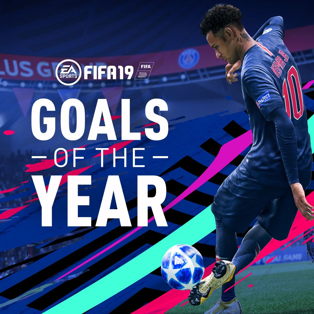 🚀 all around. It's your best #FIFA19 goals so far 😎