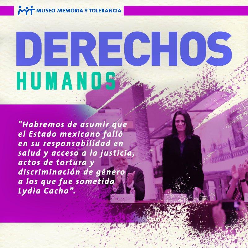 Memoria y Tolerancia's photo on Lydia Cacho