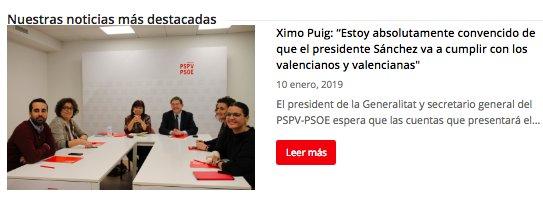 PSPV-PSOE's photo on Los Presupuestos de Sánchez