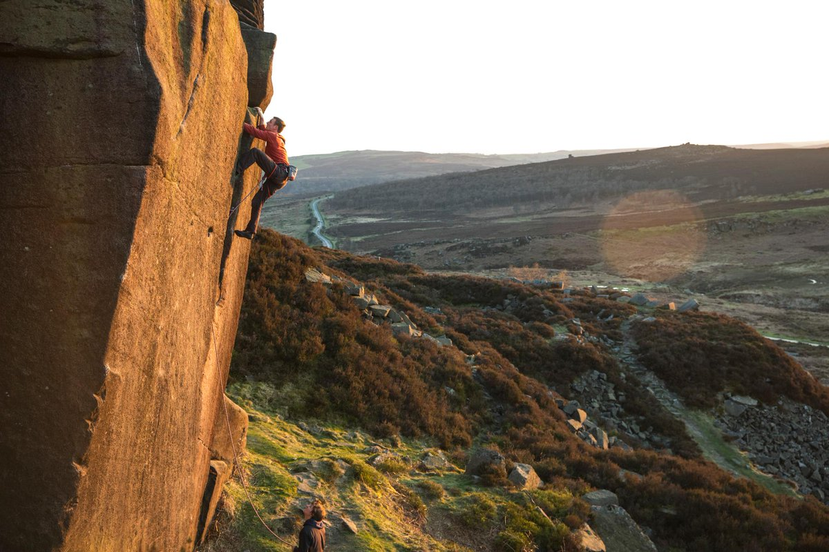 Going big on Goliath. Peak District, England, United Kingdom. Photo: Andrew Burr
