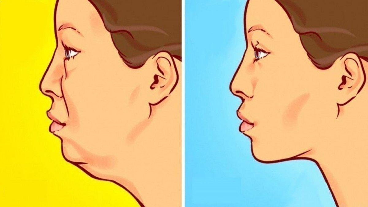 trucos para adelgazar de la cara
