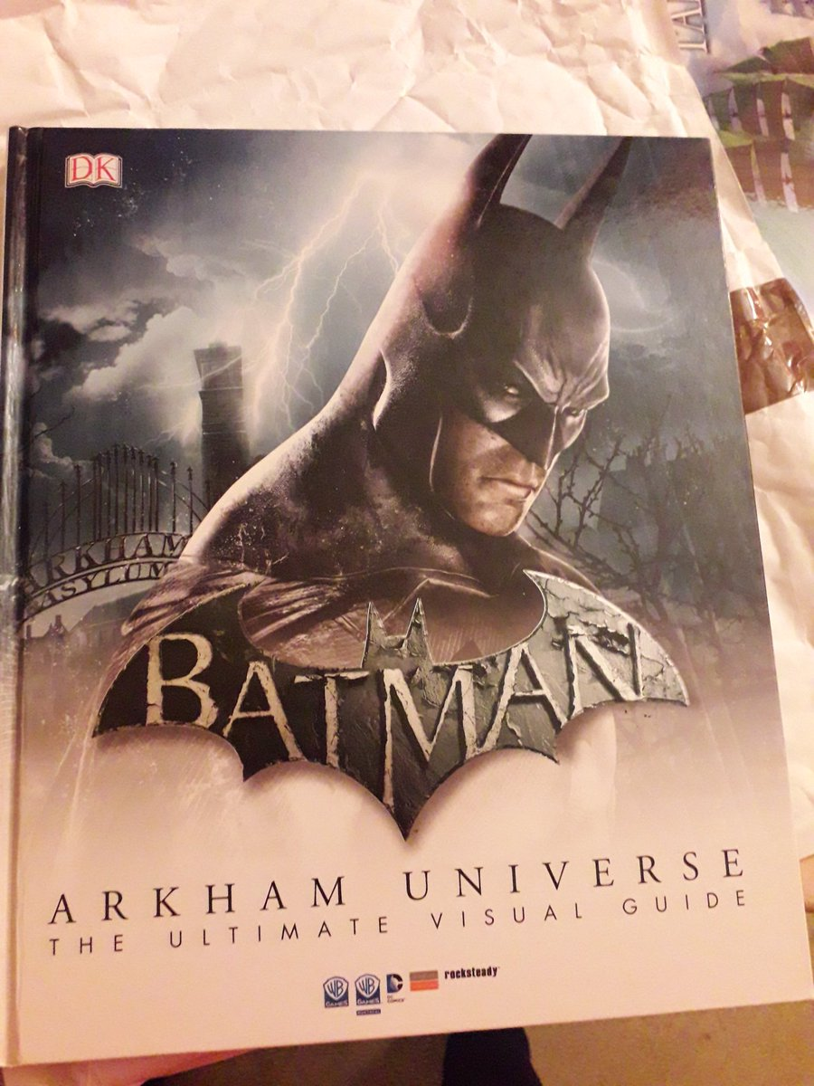 This came in the post today very happy. Been wanting this for a long time. #arkhamnight #arkham #arkhamuniverse huge fan of this and the game is awesum:)