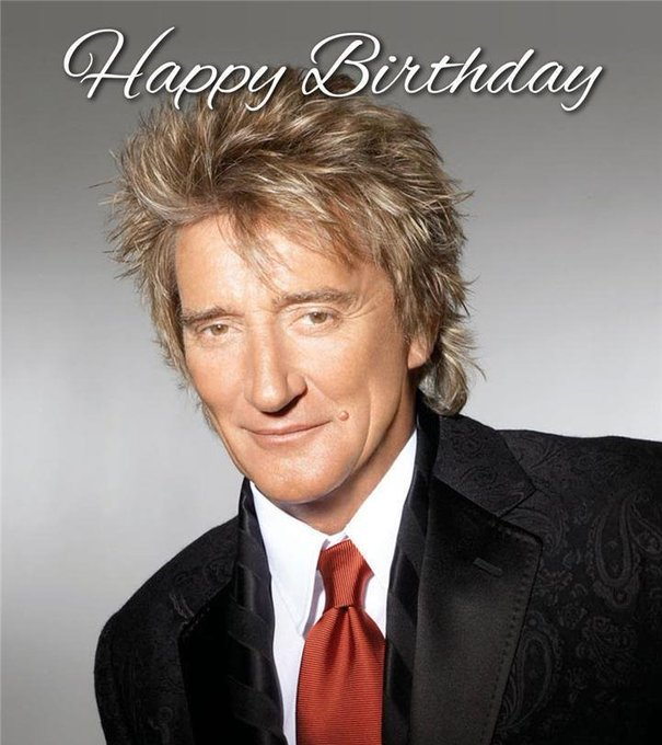 Happy birthday mister Rod Stewart, one of the greatest vocalists of all times.