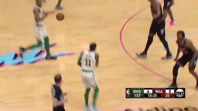11 PTS. 5/6 FG.   Kyrie leads all scorers on @NBAonTNT at the end of 1! #CUsRise https://t.co/6QnmBuSQUf