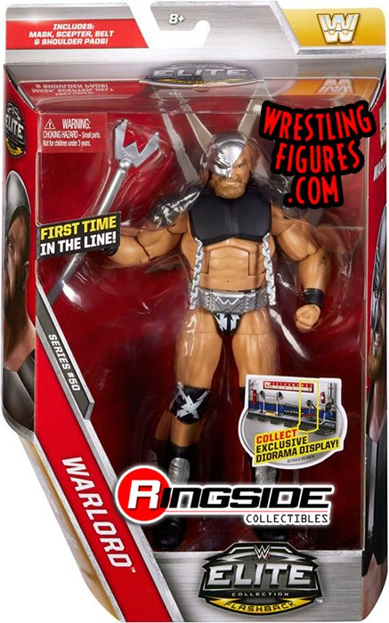 There is a true warrior in the heart of #WARLORD in #Mattel #WWE Elite 50! https://www.ringsidecollectibles.com/wwe-elite-50-toy-figures-warlord-elite50-05.html…