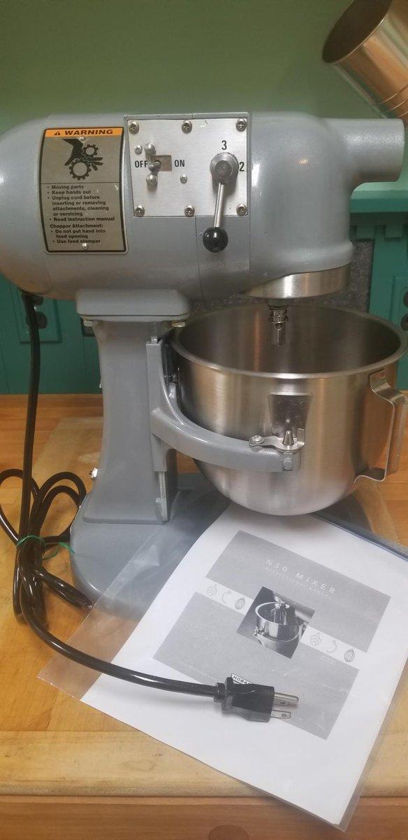 Hobart 60 Quart Mixer Manual