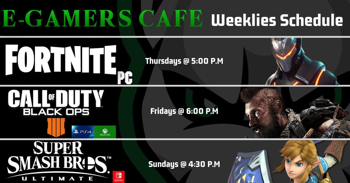 E-Gamers Cafe (@EGamersCafe)   Twitter