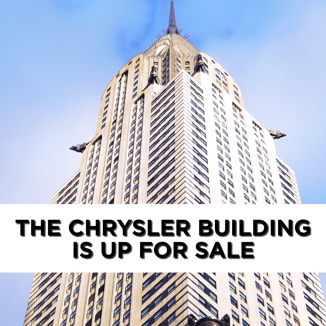 This iconic New York City skyscraper is up for sale: https://yhoo.it/2D2ziS3