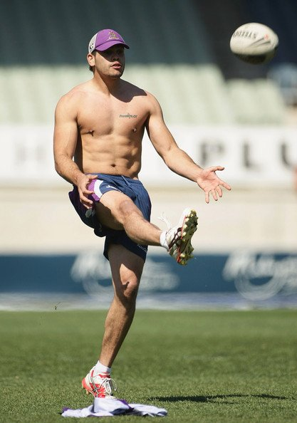 cool greg inglis of Melbourne storm !🏉🌩️🇦🇺💦💞 Photo