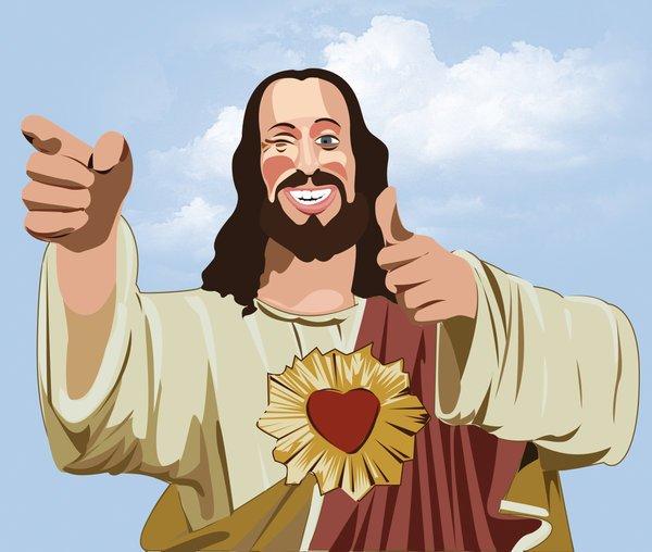 прикольные картинки про иисуса