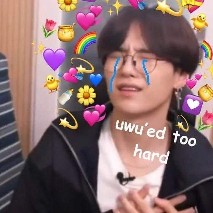 Kpop Mula On Twitter A Thread Of Bts Heart Reaction Memes Bts