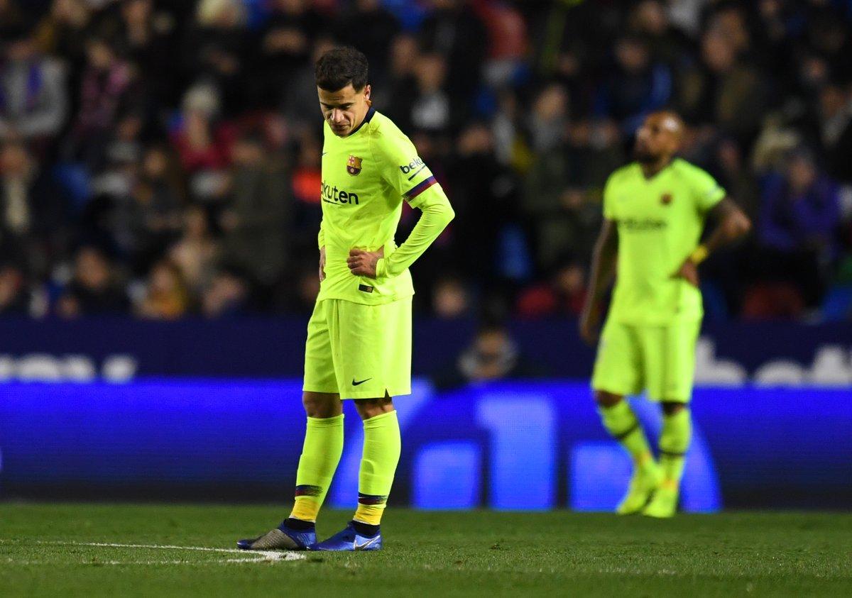 Барса - под угрозой вылета из Кубка Испании после поражения от Леванте - изображение 1