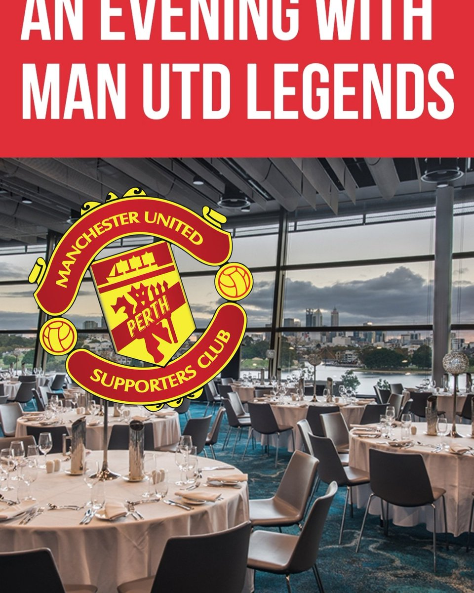 Dinner with a legend?  5 star food at a 5 star stadium with star players. Book your tickets now.  https://optusstadium.com.au/whats-on/united-in-perth-an-evening-with-man-utd-legends …  #perthwesternaustralia #mutour #unitedinperth  #seeperth #justanotherdayinwa  #perth #manchesterunited #manutd #manchester #united #pmusc  #mufc #perthmusc