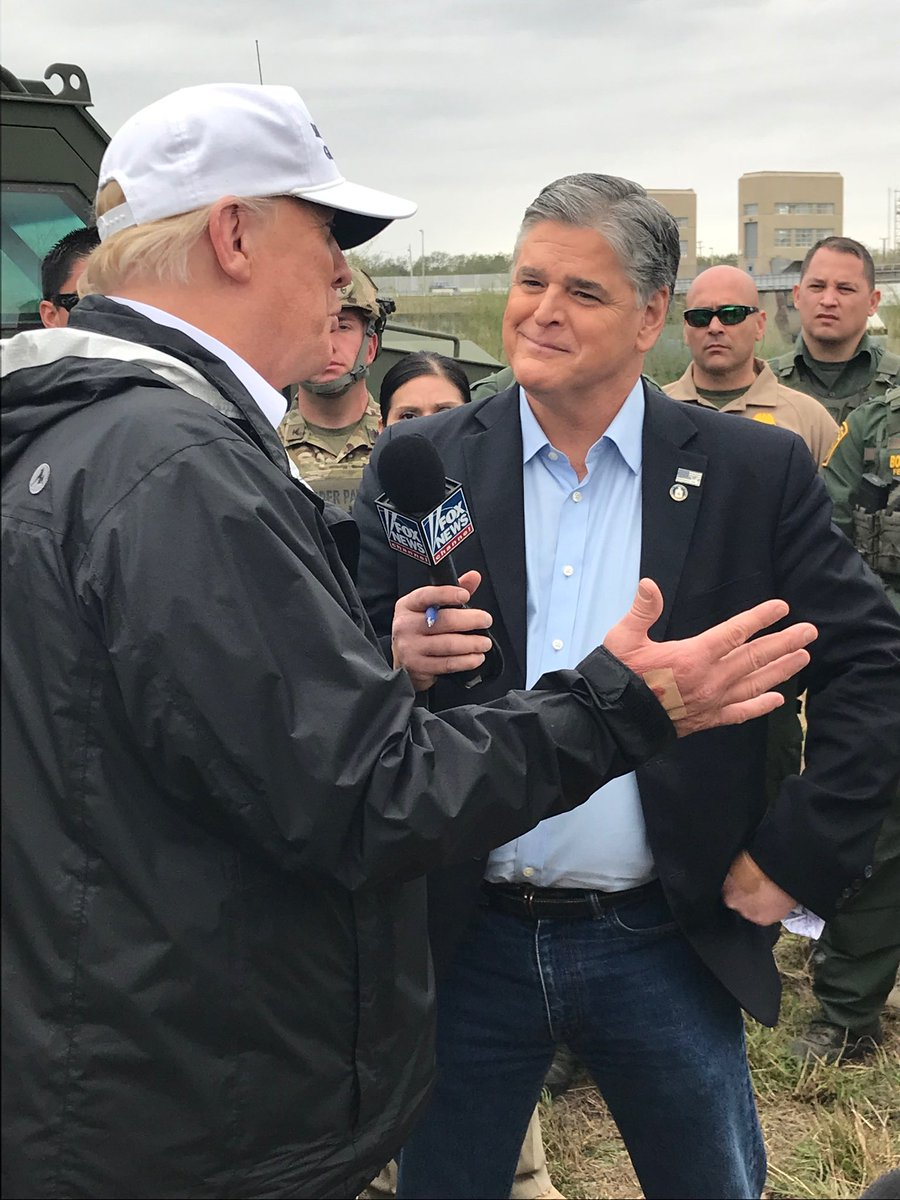 Don't miss my one-on-one interview with President Trump airing TONIGHT on #Hannity ! Tune in at 9:00 PM ET !