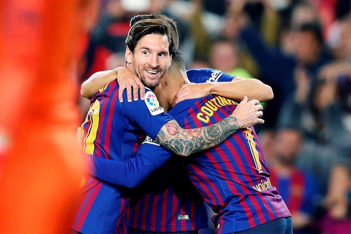 🔵🔴 ¿Messi en el Camp Nou para remontar?   🔄 Sí  ❤ No