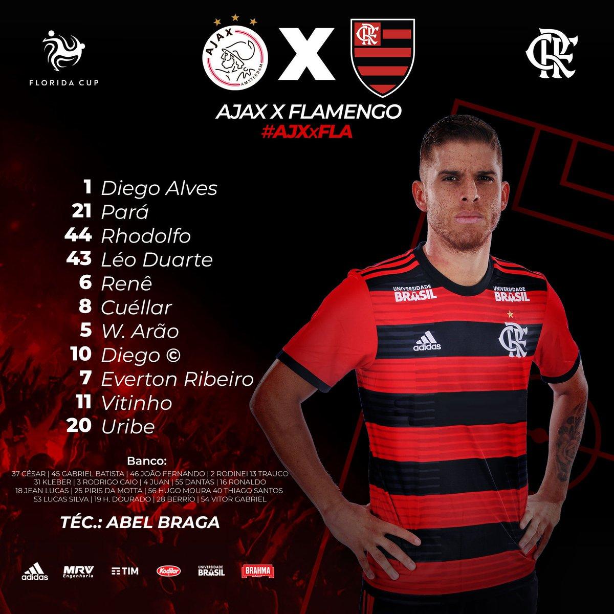 Flamengo's photo on #AJXxFLA