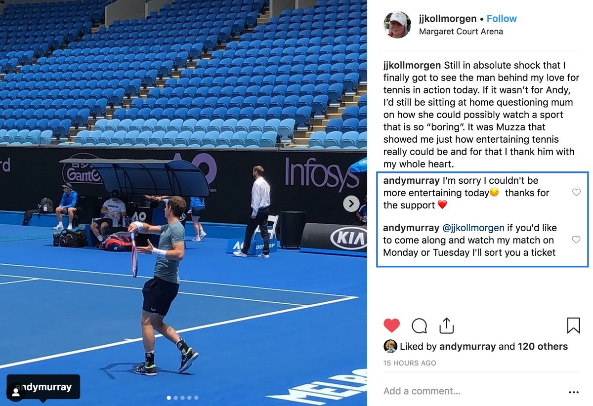 Andy Murray is all class 🙏