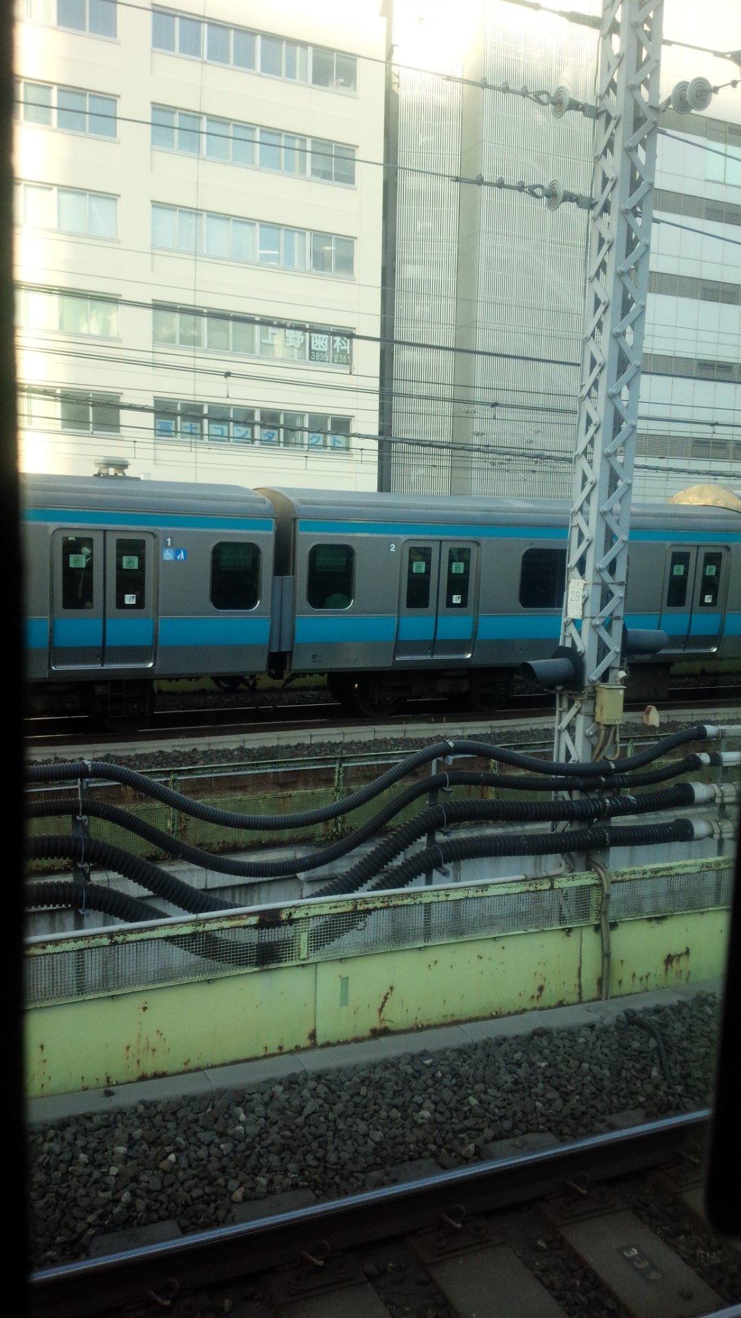 画像,常磐線停止なう゚(゚´Д`゚)゚日暮里駅で人身事故らすぃ゚(゚´Д`゚)゚ https://t.co/9c6lOu6INX…