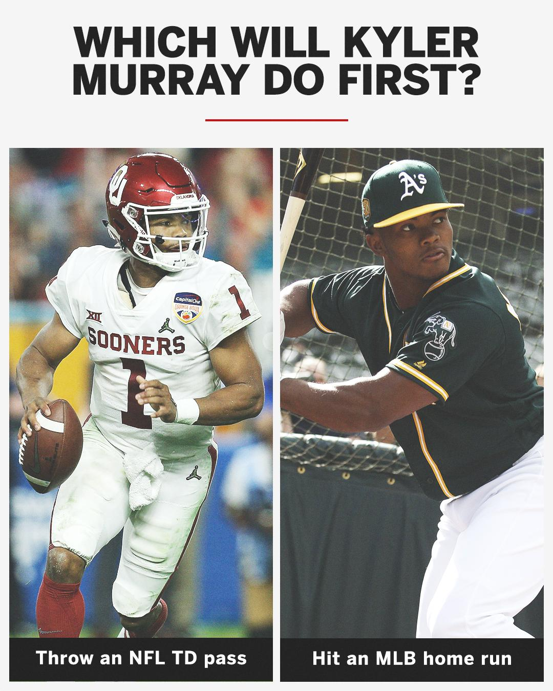Kyler could do both, but which will he do first? https://t.co/JCsBuUDam8