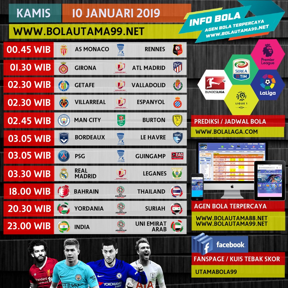 #ligainggris #premierleague #ligaspanyol #kostumfutsal #soccernews #prediksibola #kabarbola #infobola #ligaindonesia #agenbola #score #championsleague #AFC #jadwalbola #cr7 #Messi #prediksibola #ucl #epl
