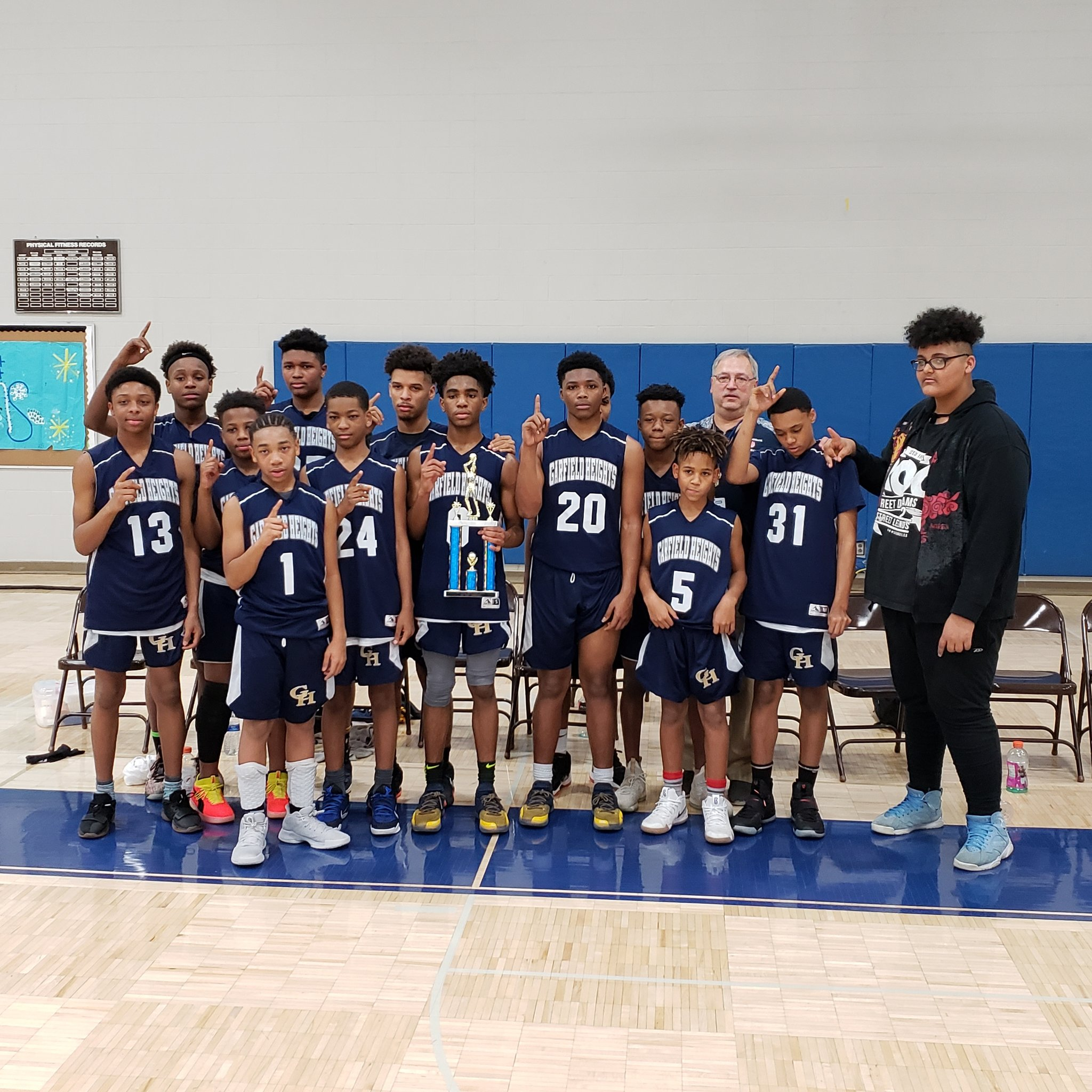 Garfield Heights Middle School On Twitter Gcc Champions The 8th Grade Boys Basketball Team Defeated The Undefeated Shaker Heights Team 48 To 47 In A Thrilling Game Mrglazer25 Ghbulldogsad Garfieldhts Sauerghms Athleticsghms