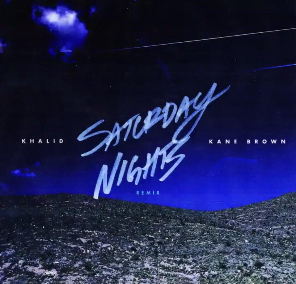 me listening to the saturday nights remix @thegreatkhalid @kanebrown