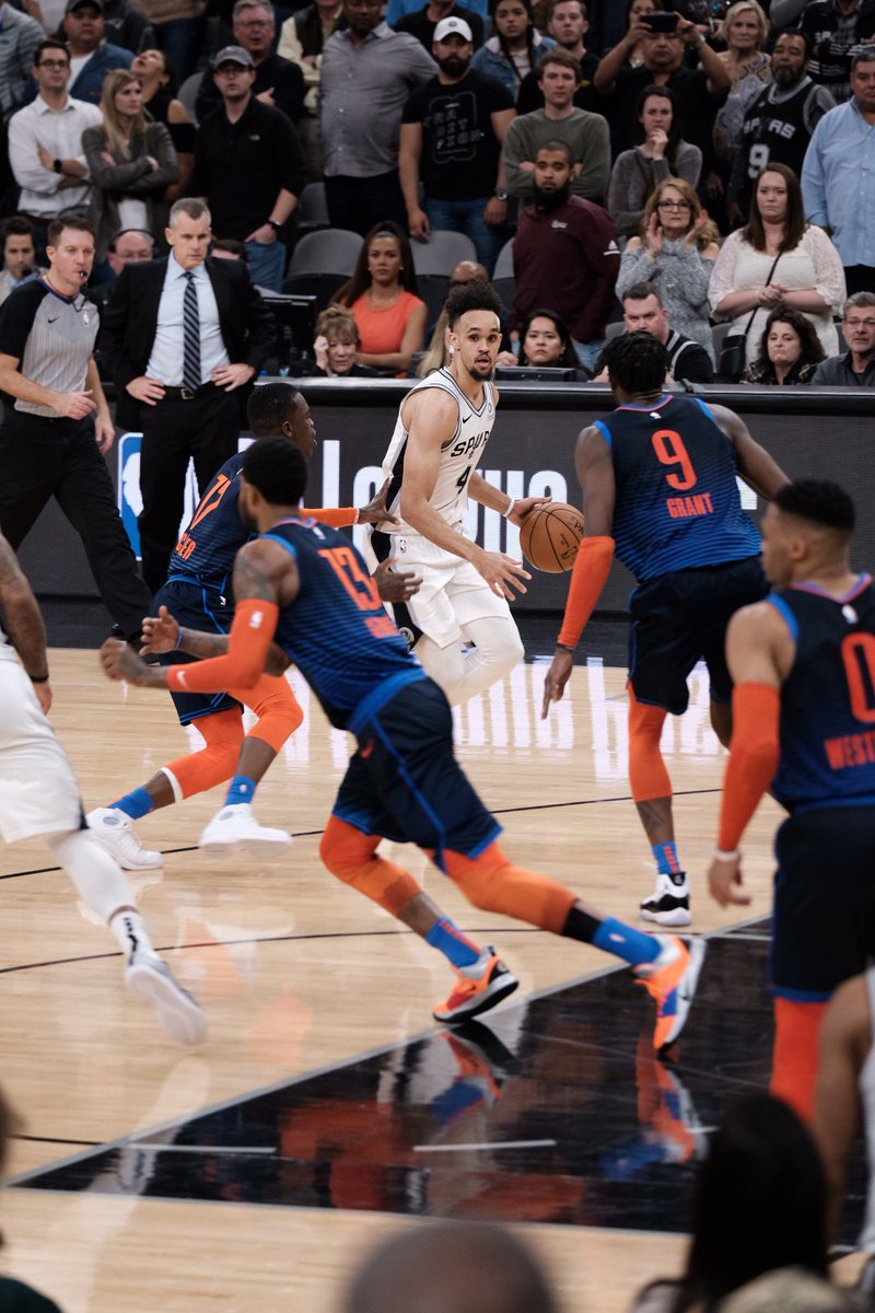 San Antonio Spurs's photo on derrick white