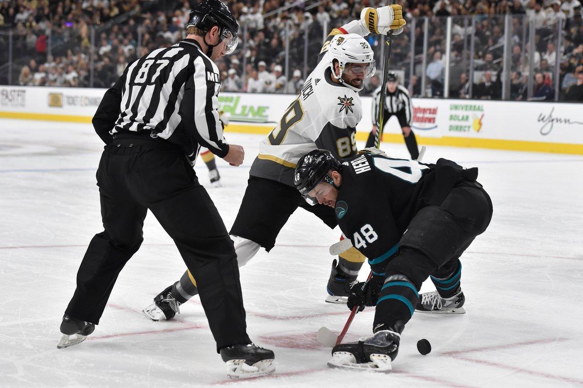 NHL Public Relations's photo on #SJSvsVGK
