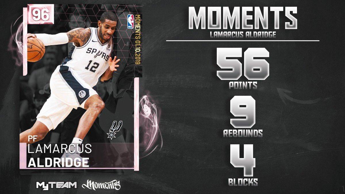 2K Moment Cards ЁЯЕе's photo on lamarcus aldridge