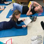 Image for the Tweet beginning: Lunchtime Book and Yoga Club