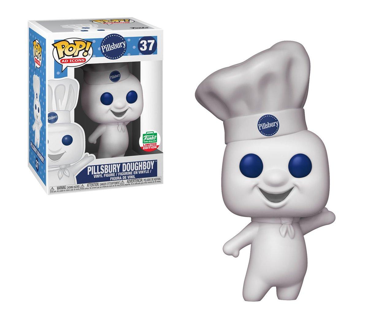 RT & follow @OriginalFunko for a chance to WIN a Funko Shop exclusive Pillsbury Doughboy Pop!