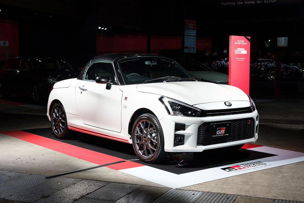 トヨタ、「もっと気軽にGR」がコンセプトの『GRコペンGRスポーツコンセプト』を発表 https://t.co/1R2fSsx8Uw #TAS2019 #東京オートサロン #東京オートサロン2019 #Toyota #トヨタ