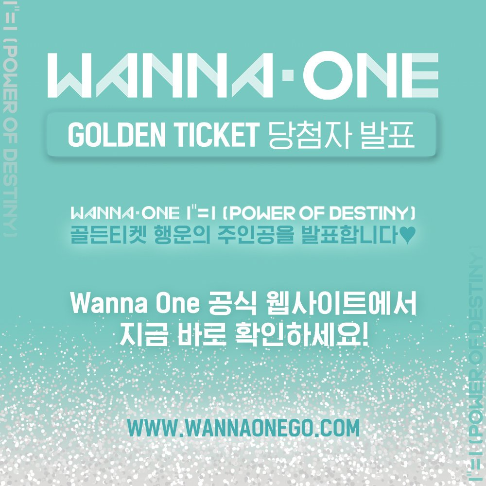 Wanna One's photo on destiny