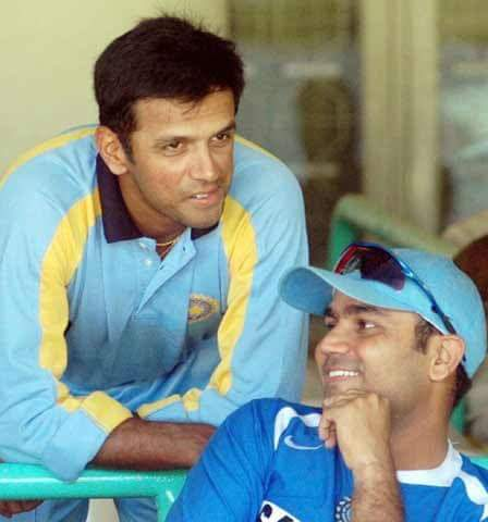 Deewaron ke bhi kaan hote hain , is deewar ka bahut saaf Mann aur hriday bhi hai!( #TheWall too has ears, this one has a pure mind and a heart as well) A joy to have played with him and made so many wonderful memories together #HappyBirthdayRahulDravid !