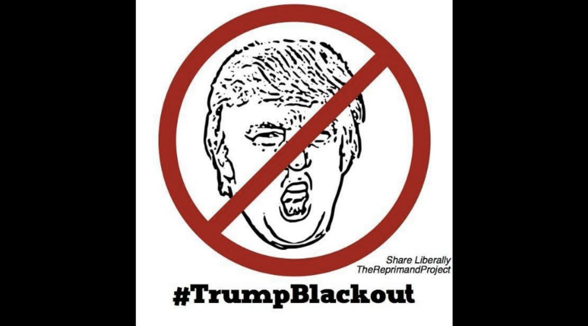 The Hoarse Whisperer's photo on #TrumpBlackout