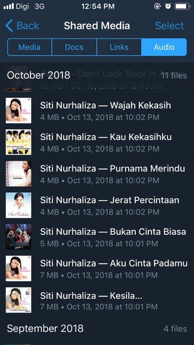 Today s playlist sempena Happy birthday Siti Nurhaliza