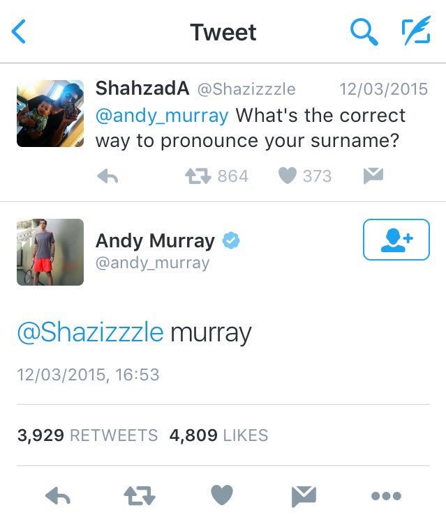 Just heard Andy Murray has said he's planning on retiring after Wimbledon this year... Here is a throwback to one of the highlights of his legendary career  <br>http://pic.twitter.com/eP2ccgG84c