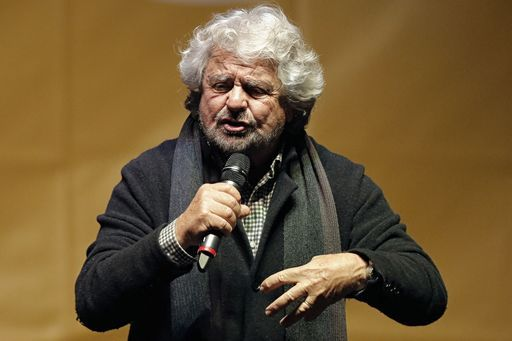 askanews's photo on Beppe Grillo