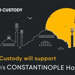 Image for the Tweet beginning: Great news, folks! BANKEX Custody will