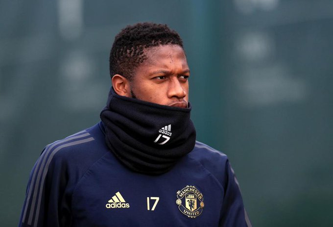 Fred training alone in desperate race against time to be fit to face Spurs Foto