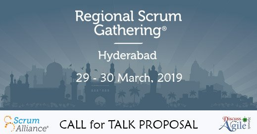 Check out the Talk Proposed by @DianaKirkova on Communication sometimes is not what you first hear - a guide to agile communication for Regional Scrum Gathering in Hyderabad 2019. Any comment on that?? You can SUBMIT your TALK PROPOSAL: #RSGI2019 Photo